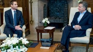 Macri recibió al CEO de American Tower, quien le expuso sobre un plan de inversiones
