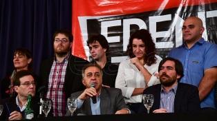 """Los precandidatos del Frente de Izquierda señalaron que harán una campaña """"al servicio de las luchas sociales"""""""