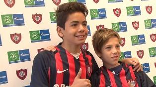 """Dos jugadores infantiles de San Lorenzo participarán del torneo """"Fútbol por la Amistad"""""""