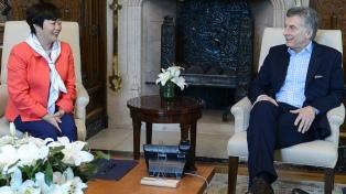 Macri recibió a presidenta de la automotriz china BYD, que quiere fabricar buses eléctricos en el país