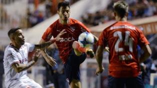 Independiente goleó a Unión y se metió en zona de Libertadores