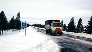 Nevaría todo el fin de semana en Chubut y se restablece la distribución domiciliaria de gas en Santa Cruz