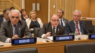 "Malvinas: Cancillería pidió al Reino Unido que ""ponga fin a la realización de actos unilaterales"""