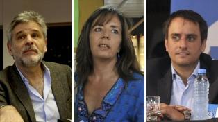 Filmus, Cerruti y Cabandié encabezan la lista a diputados nacionales