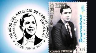 El correo cometió un grave error con la fecha de nacimiento de Carlos Gardel