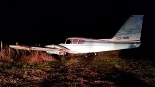 Secuestran 450 kilos de marihuana que eran transportados en una avioneta que aterrizó en una pista clandestina