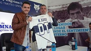 """Soso, admirador de Bielsa, se presentó en Gimnasia y prometió un equipo """"ofensivo"""""""