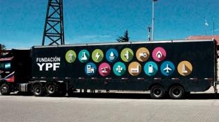 El tráiler educativo de la fundación YPF llega a la localidad de Zapala