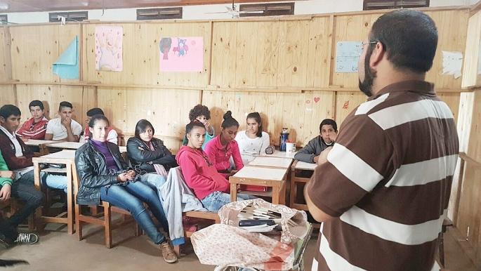 Un investigador del Conicet viajó a El Impenetrable para contarle a los chicos cómo es su trabajo