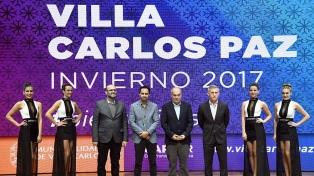 Villa Carlos Paz presentó su temporada de invierno