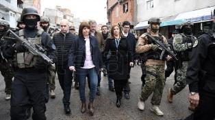Tras el operativo antinarco, el lunes indagan a los detenidos