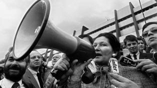 Rinden homenaje a Simone Veil, ícono político y feminista