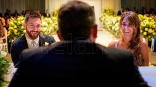 El mensaje de Messi tras el casamiento