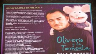 Ismael Serrano estrenó su primer espectáculo infantil en Argentina