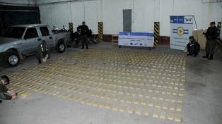 Volvieron a secuestrar droga en Itatí y ahora hallaron 400 kilos de marihuana
