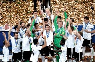Alemania derrotó a Chile y es campeón