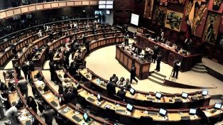 El excontralor Carlos Pólit fue censurado por la Asamblea Nacional