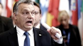 Segunda jornada de protestas en Budapest contra la reforma laboral de Viktor Orban