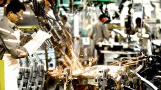 La producción fabril creció 8,5 por ciento en febrero