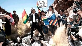 Morales descarta plantear una contrademanda a Chile ante La Haya por el Silala