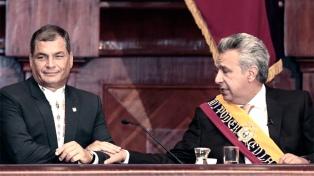 "Correa acusa de ""traidor"" a Lenín Moreno por la detención de Assange"
