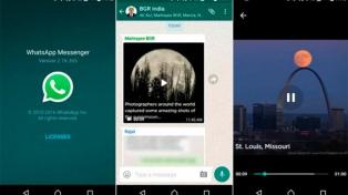 El streaming de video en WhatsApp llega a todos los usuarios