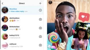 Las respuestas con videos llegaron a Instagram Stories