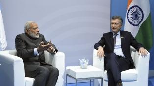 El Presidente tuvo bilaterales con los premier de Singapur e India