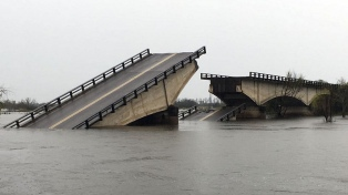 Derivarán los casos complejos de salud a Entre Ríos luego de la caída del puente