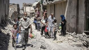 Miles de niños necesitan ayuda con sus traumas tras la batalla de Mosul