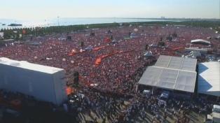 La marcha por la Justicia terminó con una multitudinaria manifestación en Estambul