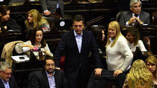 El massismo y el peronismo federal pedirán una sesión especial parta tratar tarifas