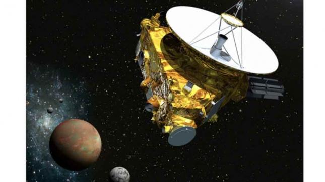 Foto de sonda New Horizons en Pluton (Foto: NASA)