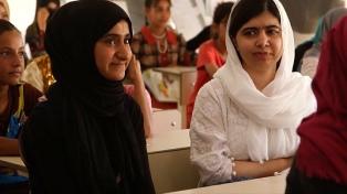 Malala visitó el Kurdistán iraquí y pidió a líderes mundiales que inviertan en educación