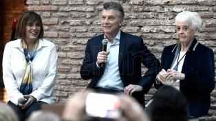 """Macri: """"Sigamos apostando cada vez más por un rol protagónico de la mujer en la sociedad"""""""