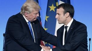 Trump atribuyó las protestas en París a las medidas contra el cambio climático