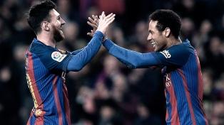 """Neymar: """"Jugar junto a Messi fue una experiencia única"""""""