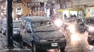 Una intensa nevada sorprendió a  Bahía Blanca, Sierra de la Ventana y las localidades del sur bonaerense