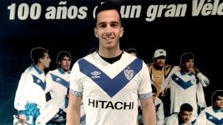 Federico Andrada se incorporó a Vélez