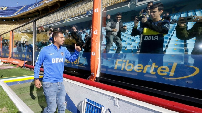 Edwin Cardona, el colombiano y nuevo 10 de Boca