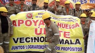 Huelga nacional de mineros en contra de la reforma laboral