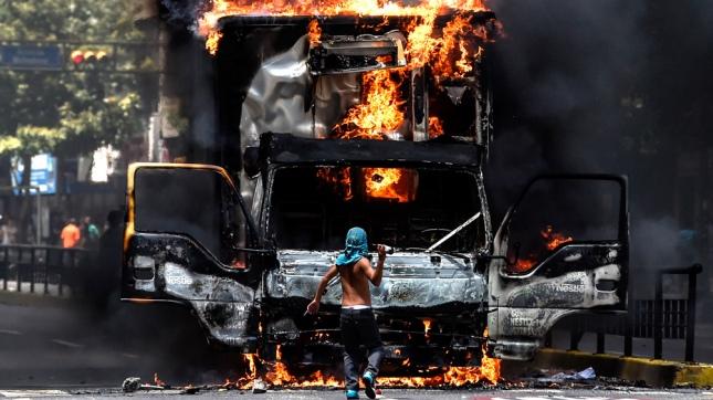 Venezuela: Disturbios se registraron durante paro cívico nacional [FOTOS Y VIDEO]