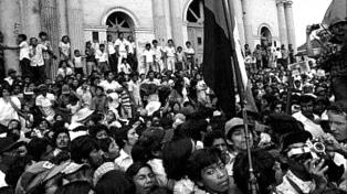 Miles de nicaragüenses celebraron el 38 aniversario de la revolución