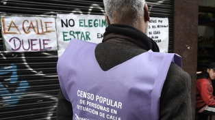San Telmo, Retiro y Palermo son los barrios con mayor cantidad de personas en situación de calle