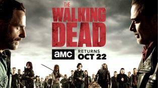 Rick enfrenta a Negan en el póster de la nueva temporada de The Walking Dead