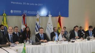 Argentina agradeció el apoyo de sus socios durante la presidencia pro tempore del Mercosur