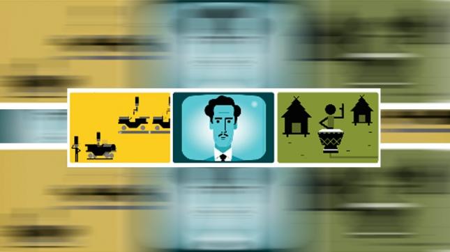 Google homenajea a Marshall McLuhan, el padre de la aldea global