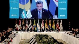 El Mercosur acordó un reclamo a Venezuela, aunque menos fuerte de lo esperado