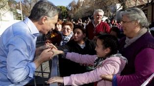 "Macri aseguró que este año ""Argentina crecerá un tres por ciento"""