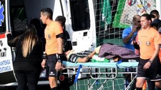 """""""Olariaga se encuentra lúcido, estable, sin complicaciones"""", según el parte médico"""